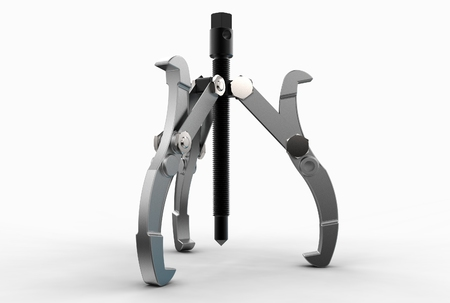 3d illustration of bearing puller Stock Photo