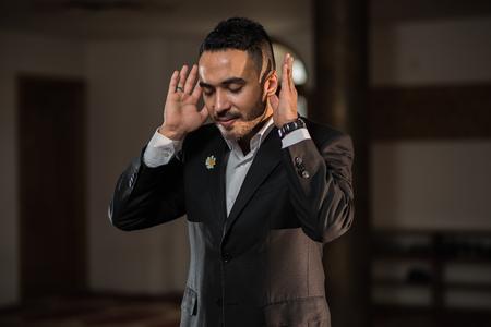 humble: Humble Turkish Muslim praying