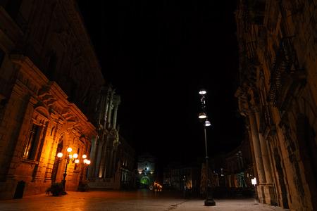 piazza: Piazza Duomo - Syracuse