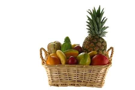 Exotic Fruits in Basket photo