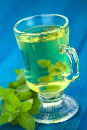 carminative: Freshly prepared Muna herb tea