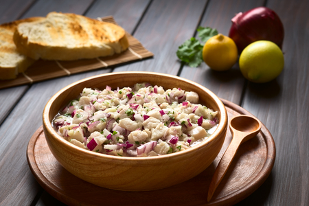chilean: Chilean Ceviche made of Southern Ray