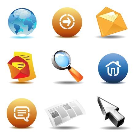 Internet icons: browsing.