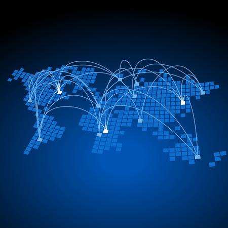 Concept de connexions globales.