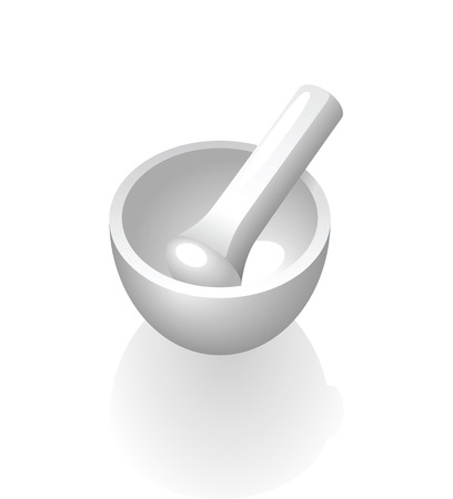 pestle: Mortar and pestle.