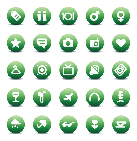 Designers icons set for travel, leisure and hotel service.  illustration. Vector