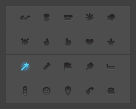 miscellaneous: Miscellaneous interface icons. Vector illustration. Illustration