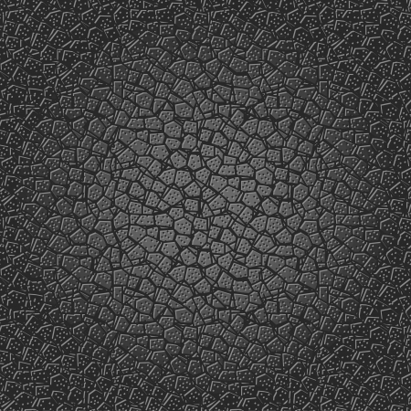Background of black seamless leather texture Vector