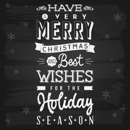 season greetings: Vecteur de tableau salutations saison de No�l et de vacances avec transparence Illustration