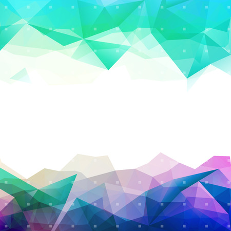 low: Geometric abstract colorful low poly background