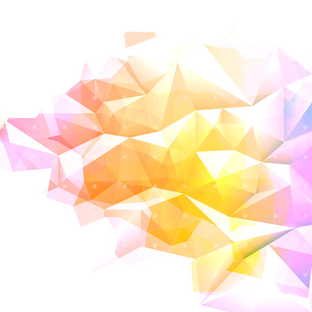 Geometric abstract colorful low poly background  Vector eps10  Vector