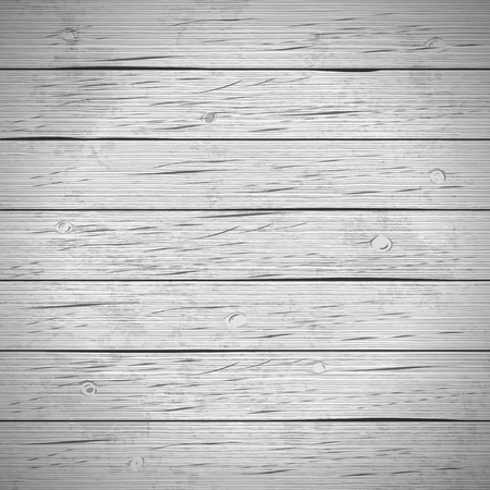 Rustic wood planks vintage background. Vector illustration. Vectores