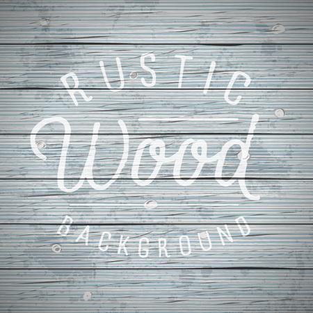 planks: Rustic wood planks vintage background. Vector illustration. Illustration