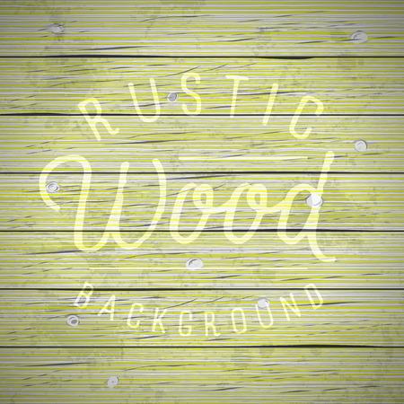Rustieke houten planken vintage achtergrond. Vector illustratie.