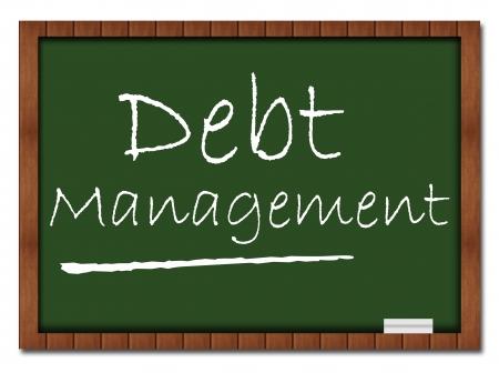 Debt Management - Classroom Vorstand Standard-Bild - 18511295