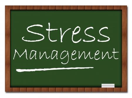 stress management: Stress Management - Classroom Board