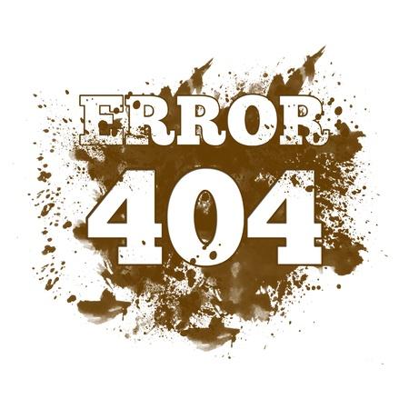 inkblot: 404 Not Found - Spatter