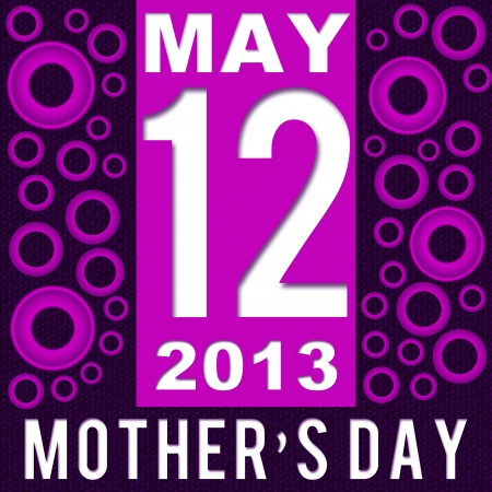 Mothers Day - Purple Pink White May 12 photo