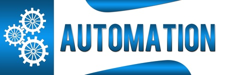 productivity system: Automation Blue Banner