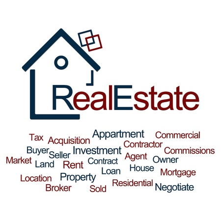 Real Estate Blue Red photo