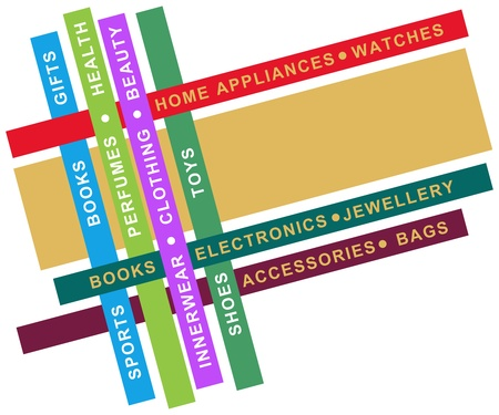 departmental: Store - Colourful