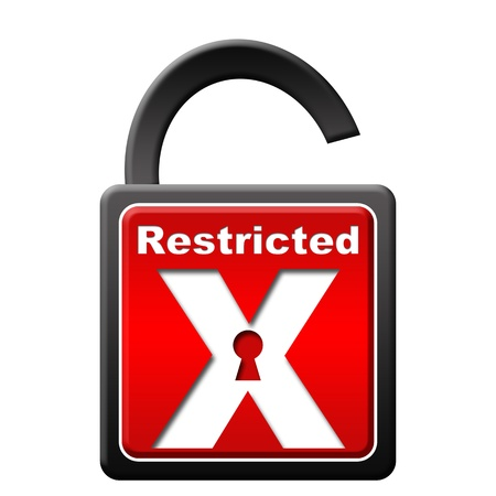 restricted: Restricted Lock Unlocked
