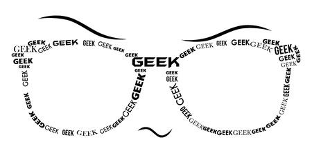 geeky: Geek Specs - Black
