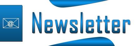 Lettre Bleu Bannière Banque d'images - 21429015