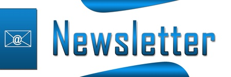 subscribe: Newsletter Blue Banner