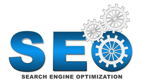 SEO Text with Gears Stock Photo - 21524745