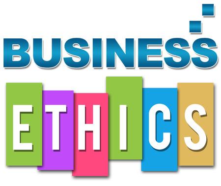 Business Ethics Professional Colourful  photo