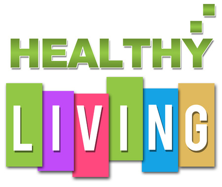 Healthy Living Professional Colourful Stock Photo