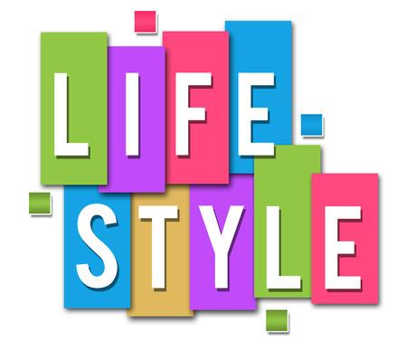 Lifestyle Rayures colorées Banque d'images - 25291047