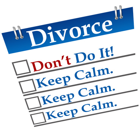 Divorce Don�t Do It photo