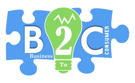 b2c: B2C colorful Shapes