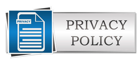 Privacy Policy Blue Button Style