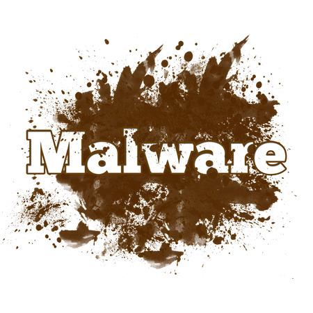 anti piracy: Malware Messy Blot