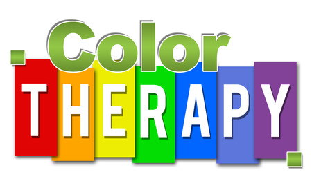 Color Therapy Professional Colorful Stock Photo