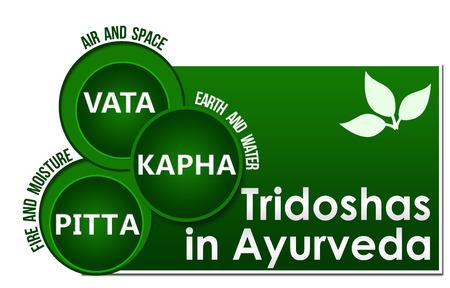Tridoshas in Ayurveda tre cerchi