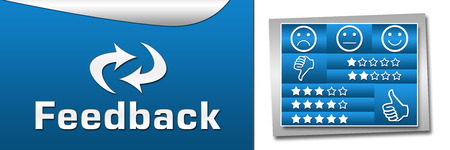 Feedback Blue Boxes Banner photo