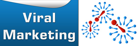 multi level: Viral Marketing Blue Horizontal