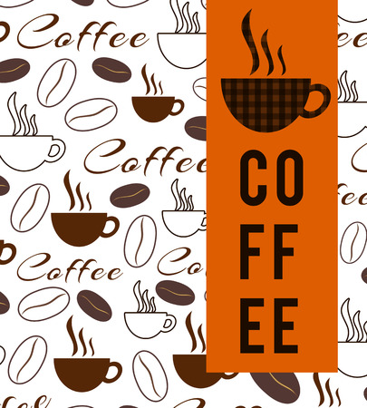 caf: Coffee Texture And Stripe Stock Photo