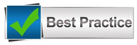 practice: Best Practice Button Style Stock Photo