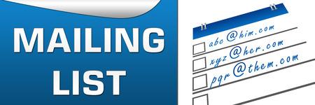 email lists: Mailing List Horizontal