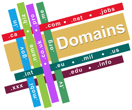 domains: Domains Store Colorful