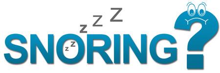 snoring: Snoring Sad Question Mark