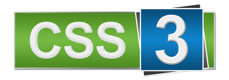 cascading style sheets: CSS 3 Green Blue