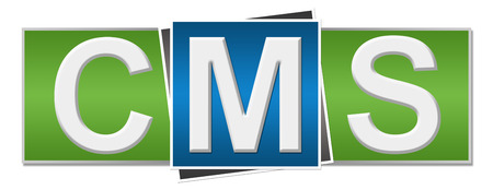 wordpress: CMS Green Blue