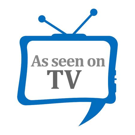 antena: TV Comment Stock Photo