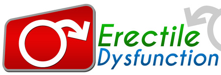 dysfunction: Erectile Dysfunction Red Green Blue Stock Photo